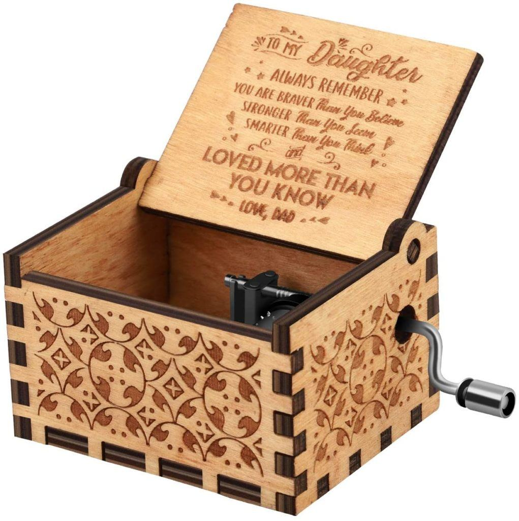 You are My Sunshine Wooden Music Box
