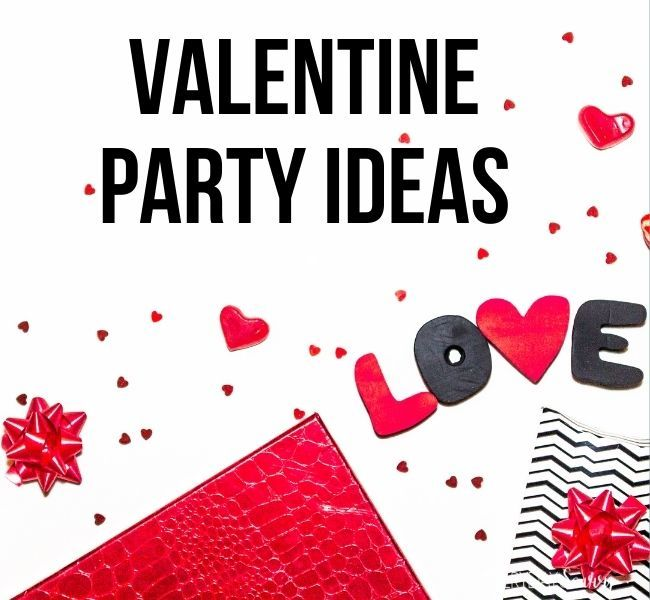 Valentine Party Ideas - presents , love with heart